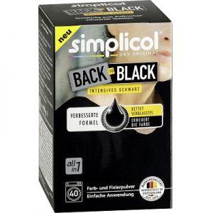 Vopsea profesionala haine Simplicol pentru revigorarea culorii negre 400g