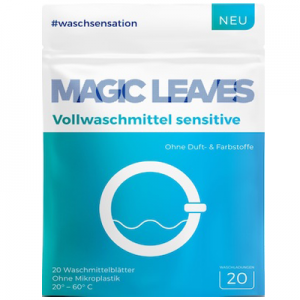 Detergent Magic Leaves sensitiv fara parfum si coloranti - formula inovatoare concentrata - 20 bucăti