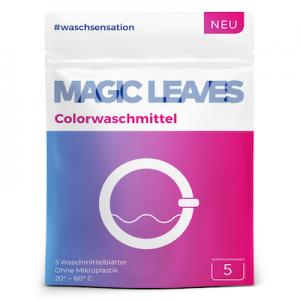 Detergent Magic Leaves pentru rufe color si negre - formula inovatoare concentrata - 20 bucăti