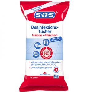 Servetele dezinfectante universale 25 buc