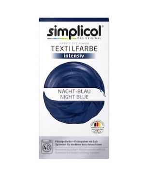 Vopsea textile Simplicol intensiv - Albastru Inchis (600gr)
