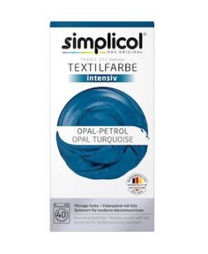 Vopsea textile Simplicol intensiv-Turcoaz Opal (600 gr)